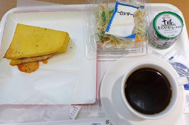 ベーカリー・カフェでサイフォンコーヒーのモーニング ヴィ・ド・フランス@長岡駅